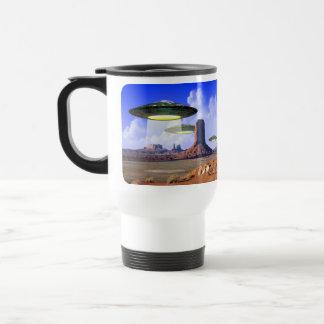 Taza del desierto del UFO