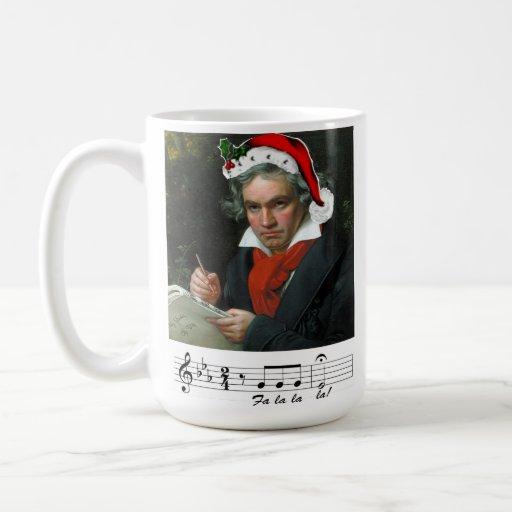 Taza del día de fiesta de Beethoven