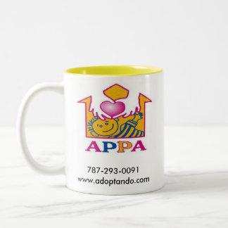 Taza del día de la adopción de APPA