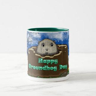 taza del día de la marmota