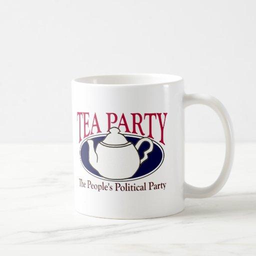 Taza del día del impuesto de la fiesta del té