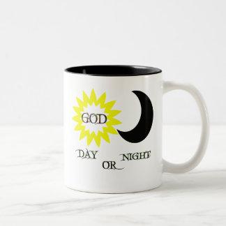 Taza del día o de la noche de dios