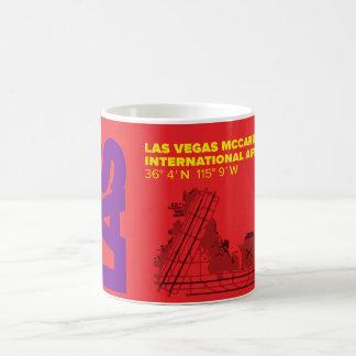 Taza del diagrama del aeropuerto de Las Vegas