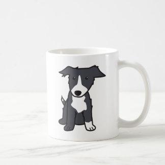 Taza del dibujo animado de la raza del perro del