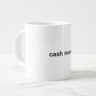 Taza del dinero del efectivo taza grande