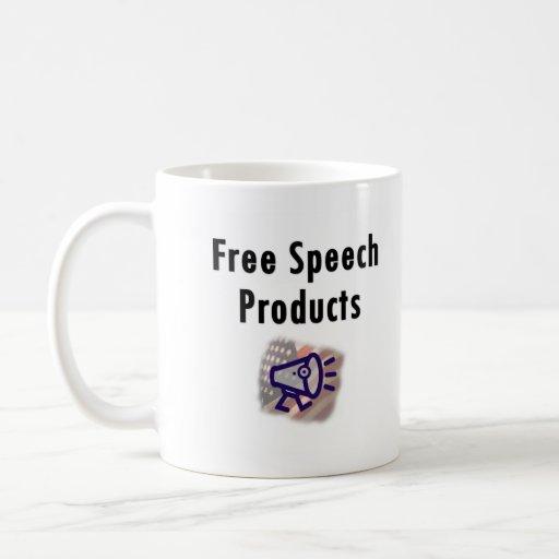 Taza del discurso libre