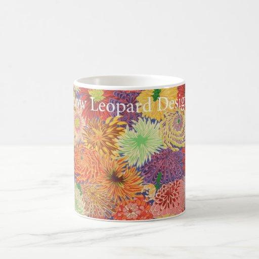 """Taza del diseño de """"Hiroshige"""" de la tela de"""