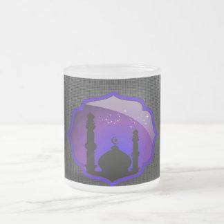 Taza del diseño de la mezquita