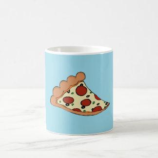 Taza del diseño de la pizza