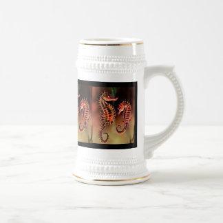 Taza del diseño del arte del Seahorse