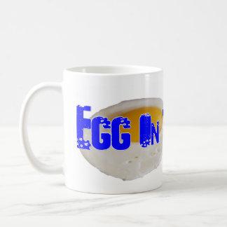 Taza del diseño del huevo de la sublimación del