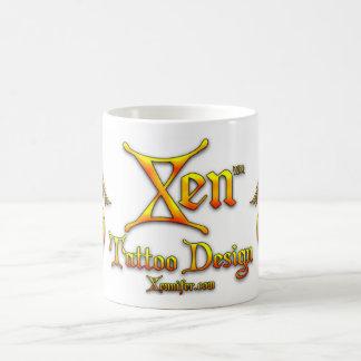 TAZA del diseño del tatuaje de Xen