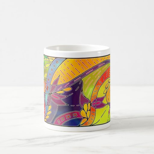 taza del diseño tres