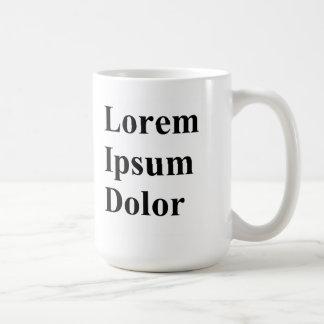 Taza del Dolor de Lorem Ipsum