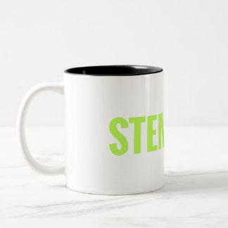 Taza del Dos-Tono de STEMinist