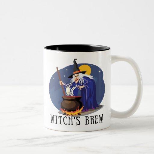 Taza del Dos-Tono del Brew de la bruja
