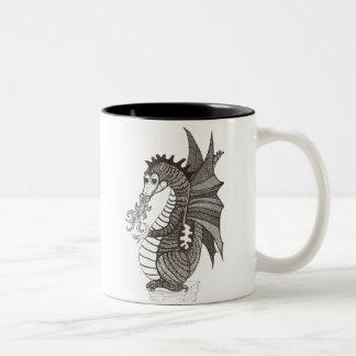 Taza del dragón