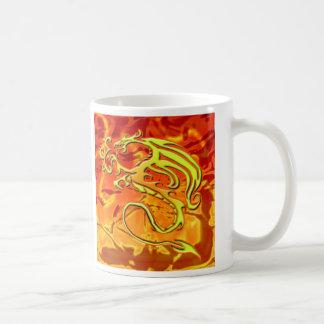 Taza del dragón del fuego