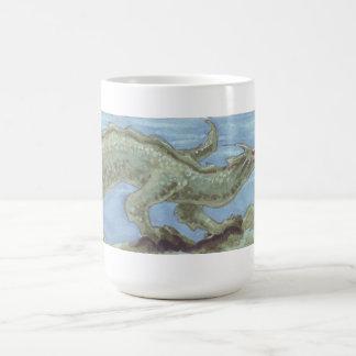 Taza del dragón del mar