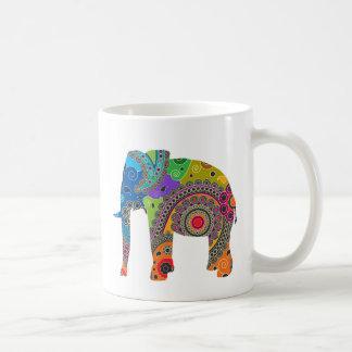 Taza del elefante de Paisley