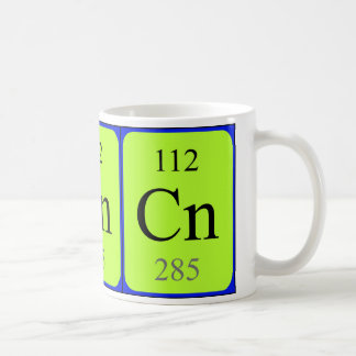 Taza del elemento 112 - Copernicium