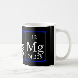 Taza del elemento 12 - magnesio