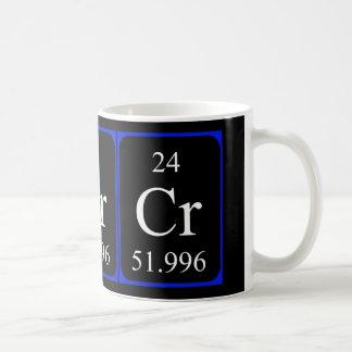 Taza del elemento 24 - cromo