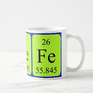 Taza del elemento 26 - hierro