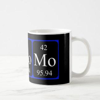 Taza del elemento 42 - molibdeno