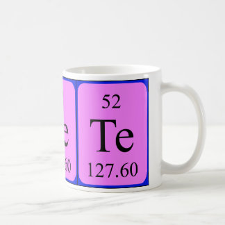 Taza del elemento 52 - telurio