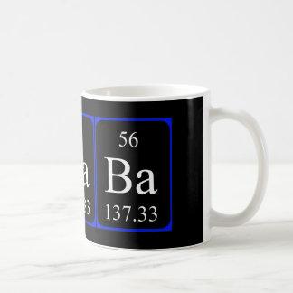 Taza del elemento 56 - bario