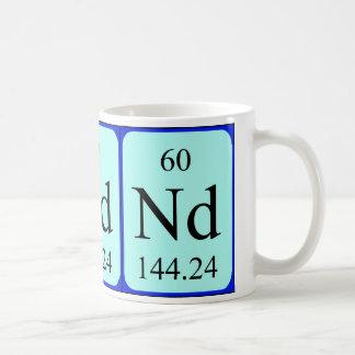 Taza del elemento 60 - neodimio