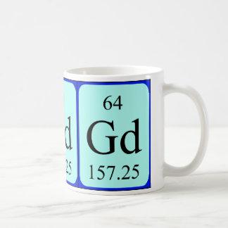 Taza del elemento 64 - gadolinio