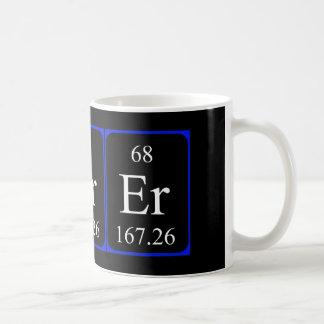 Taza del elemento 68 - erbio
