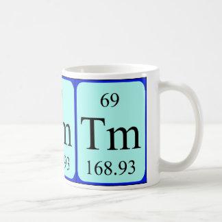 Taza del elemento 69 - tulio