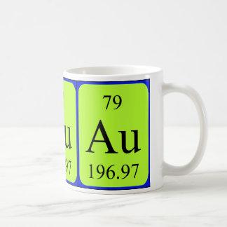 Taza del elemento 79 - oro