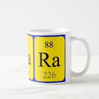 Taza del elemento 88 - radio