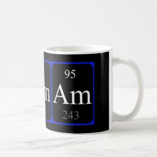 Taza del elemento 95 - americio