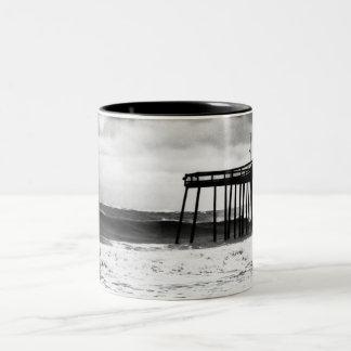 Taza del embarcadero del huracán