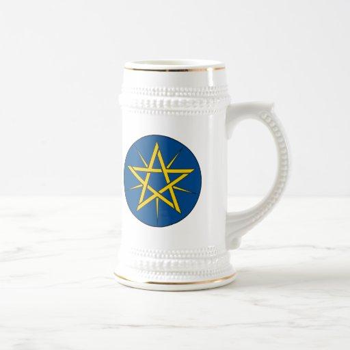 Taza del emblema de Etiopía