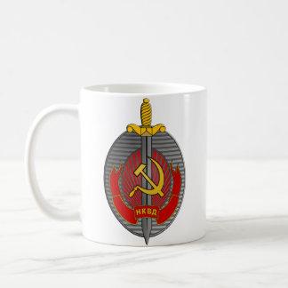 Taza del emblema de NKVD