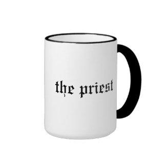 Taza del empleo del regalo del sacerdote