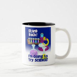 Taza del empollón de la ciencia