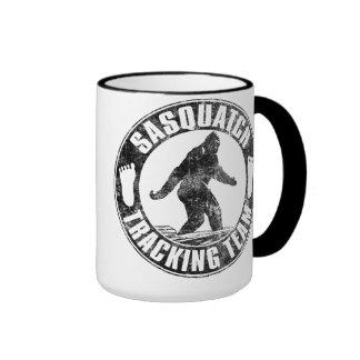 Taza del equipo de seguimiento de Sasquatch