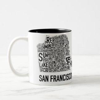 Taza del error tipográfico de San Francisco