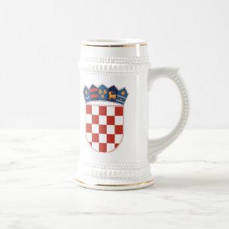 Taza del escudo de armas de Croacia