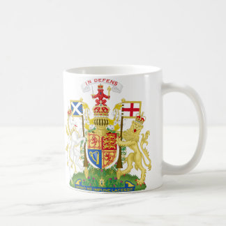 Taza del escudo de armas de Escocia