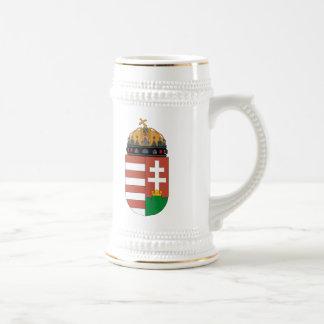 Taza del escudo de armas de Hungría
