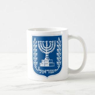 Taza del escudo de armas de Israel