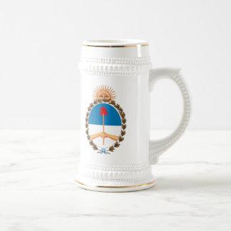Taza del escudo de armas de la Argentina